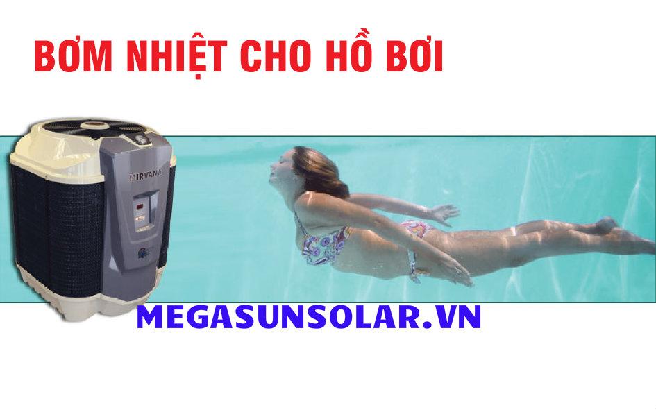 Bơm nhiệt cho hồ bơi Nirvana N116