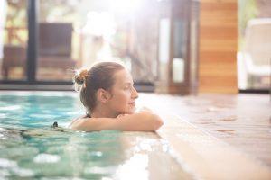 Bể bơi nước nóng bốn mùa bơm nhiệt Heat Pump Nirvana