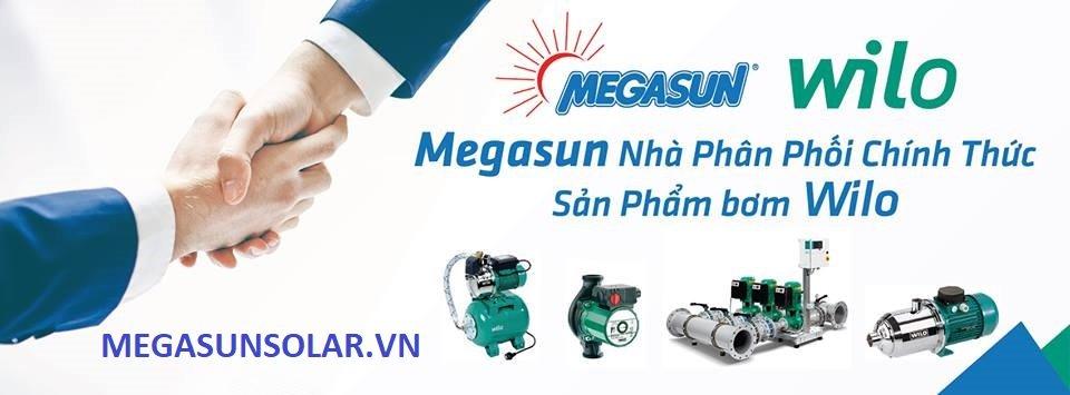 MEGASUN phân phối các loại máy bơm nước Wilo