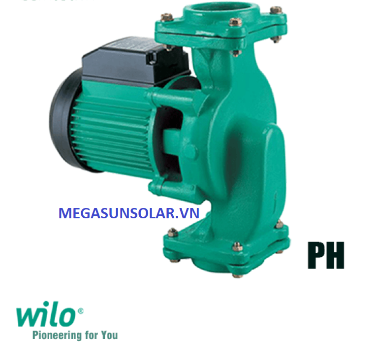 Wilo PH-254E sử dụng cho tuần hoàn nước nóng và nước lạnh