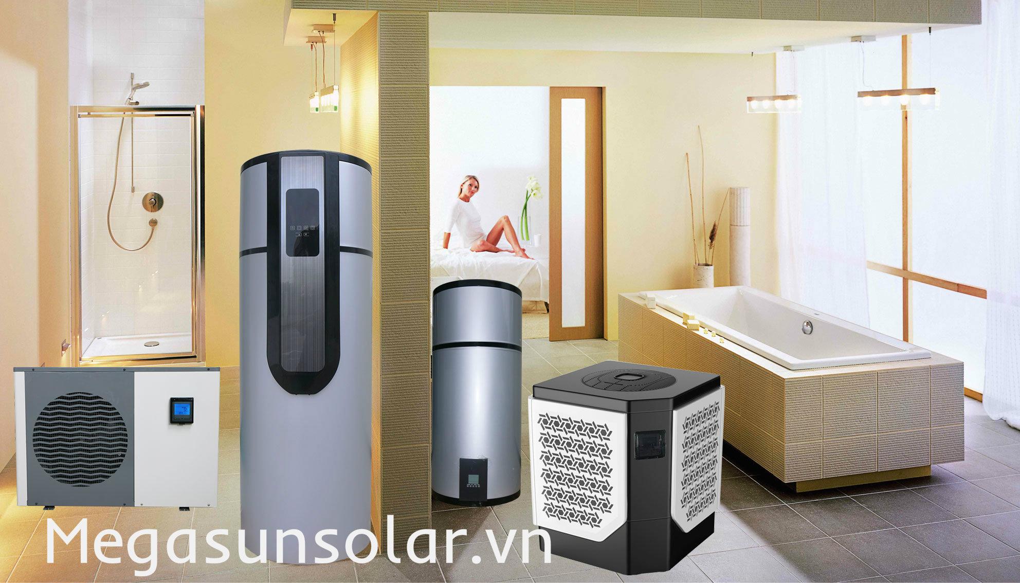 Máy Bơm nhiệt heat pump MGS2.5-200 bình tích hợp