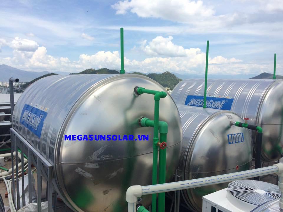 máy nước nóng năng lượng mặt trời megasun 150l