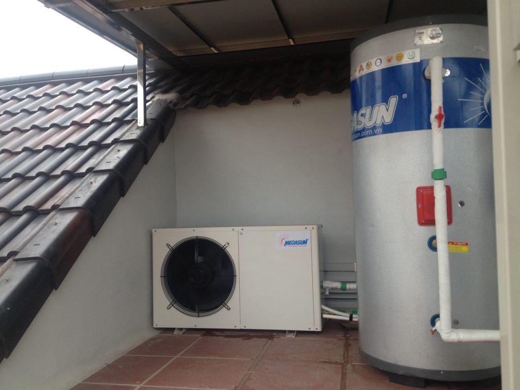 Bồn bảo ôn Megasun kết hợp bơm nhiệt heat pump