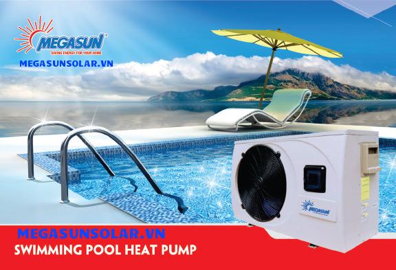 Bơm nhiệt hồ bơi Megasun MGS-2HP-S- Swimming pool Heat Pumps