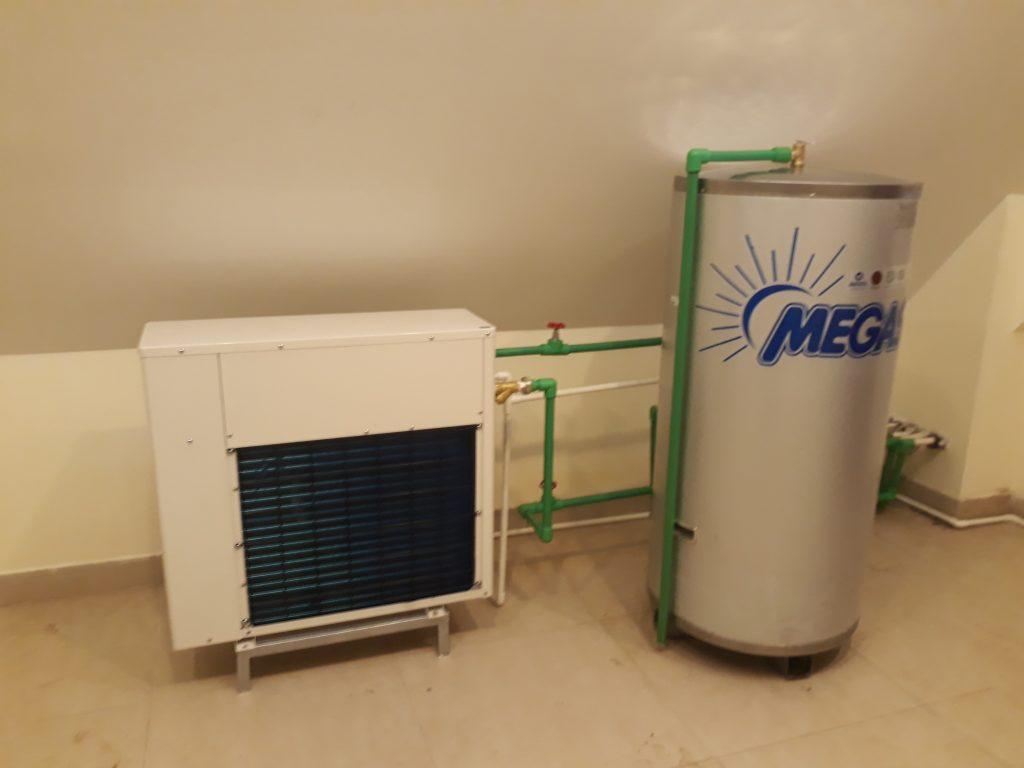 Bồn bảo ôn nước nóng dùng cho bơm nhiệt heat pump