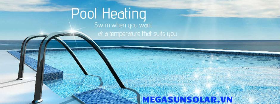 Bể bơi 4 mùa được duy trì nhiệt độ phù hợp bởi một máy gia nhiệt đạt tiêu chuẩn