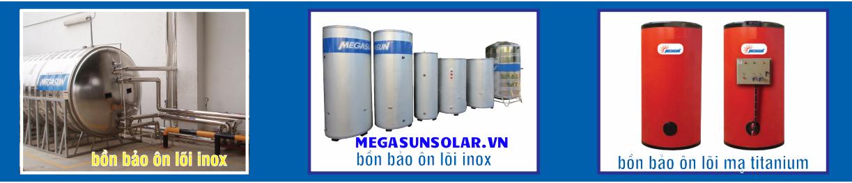 Bồn bảo ôn nước nóng Inox Megasun