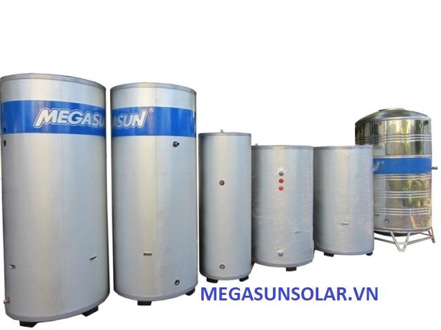 Bồn bảo ôn chứa nước nước kết hợp cùng bơm nhiệt Megasun