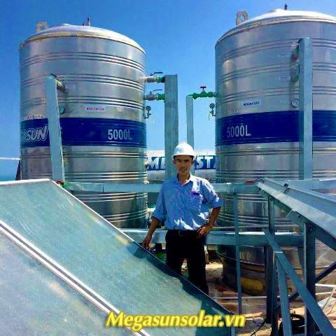 Thái dương năng chịu áp lực Megasun (Tấm phẳng)