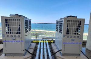 Hệ thống nước nóng trung tâm bơm nhiệt Heat Pump MEGASUN MGS-6HP