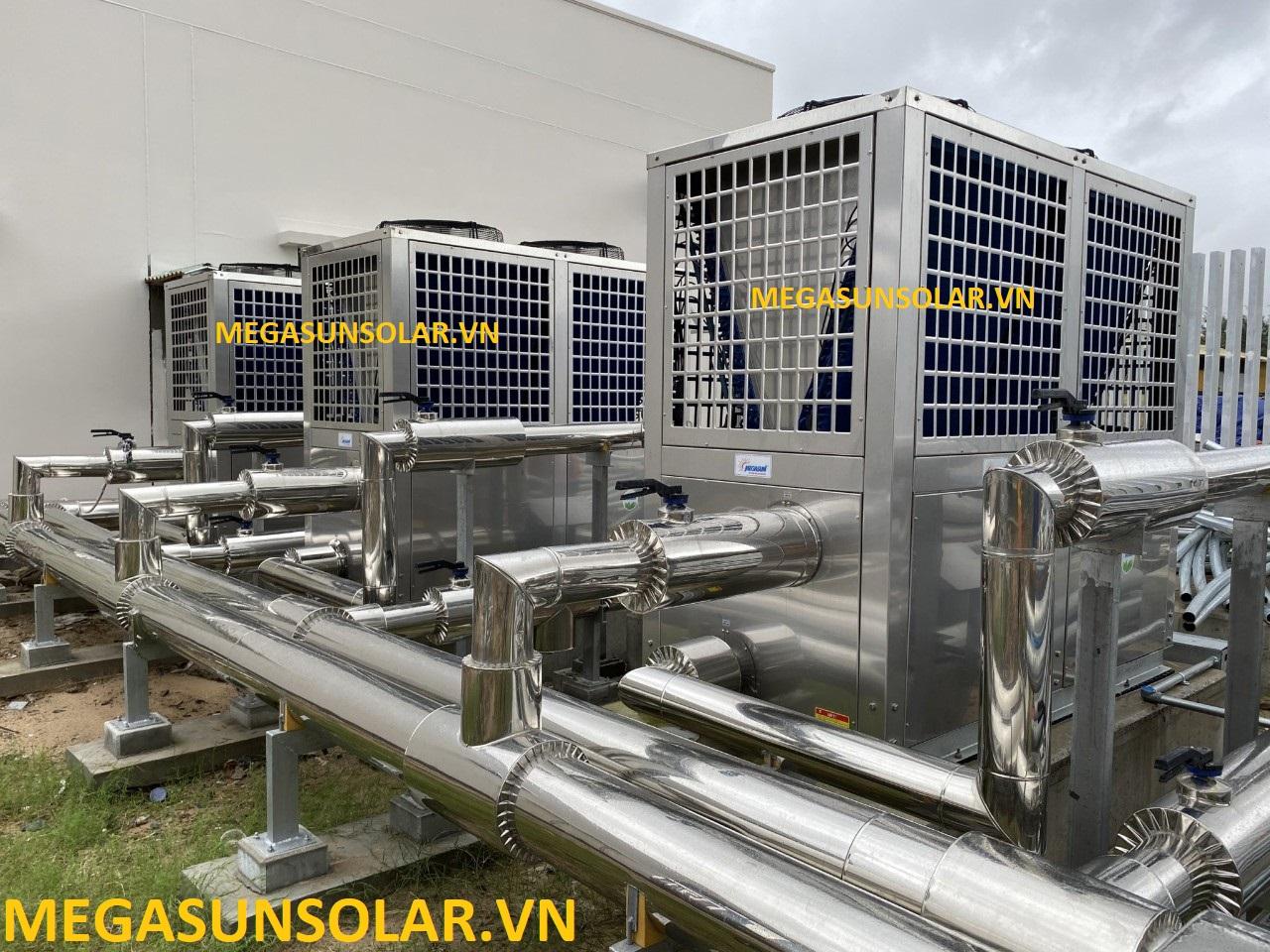 Hệ thống nước nóng trung tâm bơm nhiệt Megasun MGS-6HP