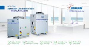 Hệ thống nước nóng trung tâm bơm nhiệt MGS-6HP