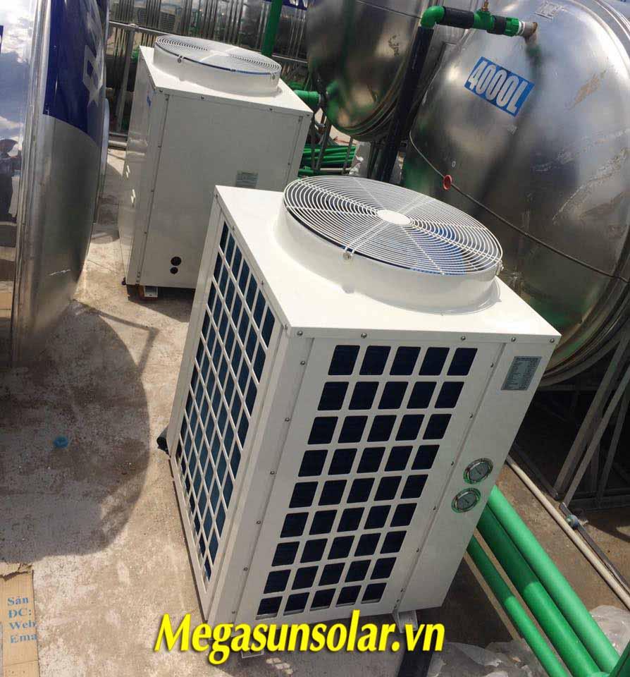 máy bơm nhiệt heatpump công nghiệp Megasun