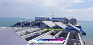 Lắp đặt tấm thu năng lượng mặt trời Megasun