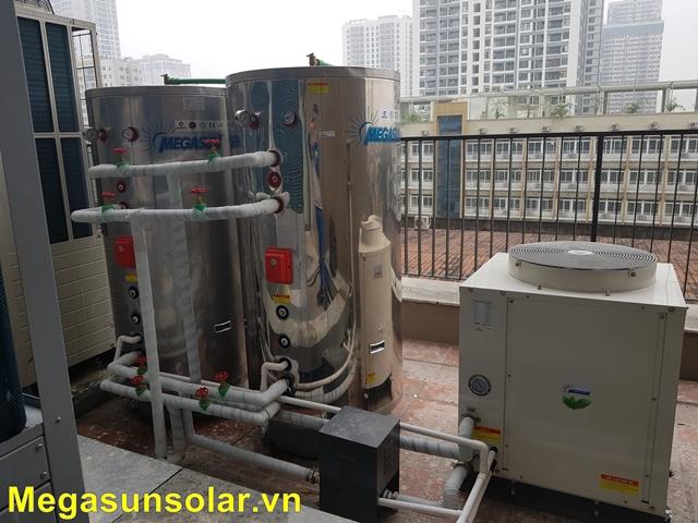 máy bơm nhiệt heat pump megasun mgs- 1.5hp