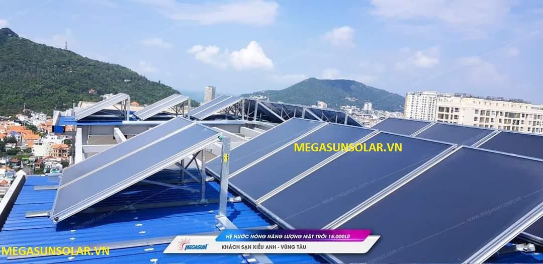 Máy nước nóng dạng tấm phẳng năng lượng mặt trời MEGASUN