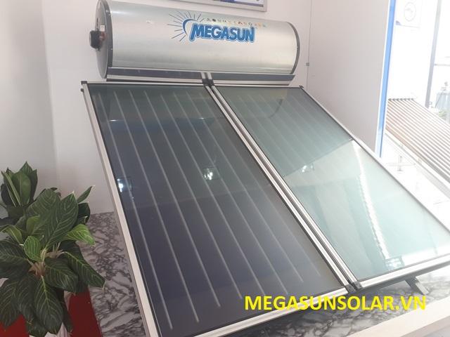 Máy nước nóng năng lượng mặt trời dạng tấm phẳng kết hợp cùng máy nước nóng bơm nhiệt MGS-2HP