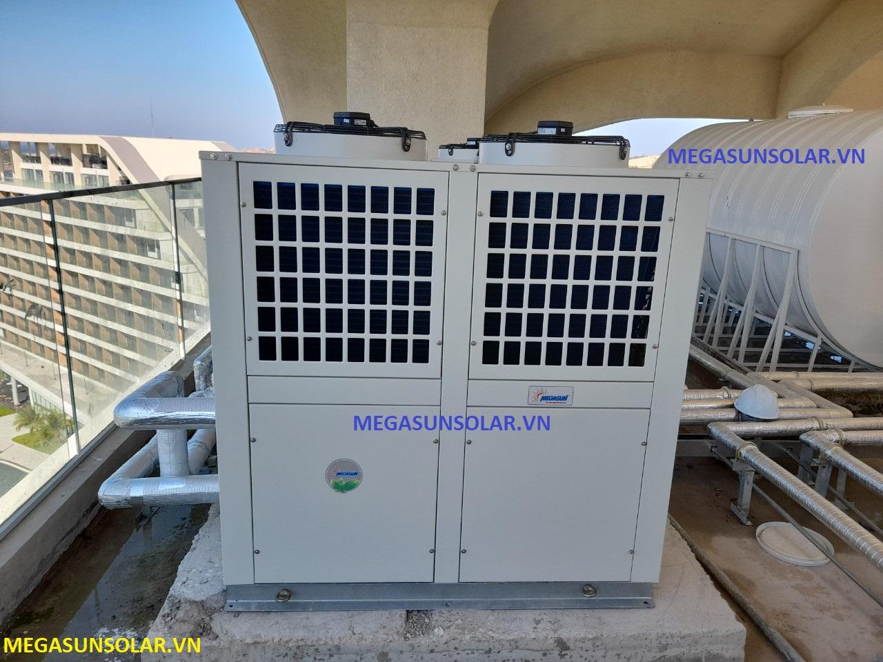 Nước nóng trung tâm bơm nhiệt MGS-6HP Megasun