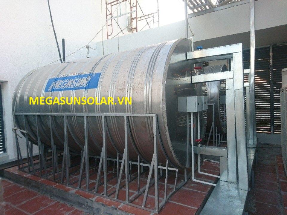 bồn bảo ôn Megasun sử dụng cho máy bơm nhiệt