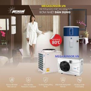 Bơm nhiệt cho gia đình MEGASUN