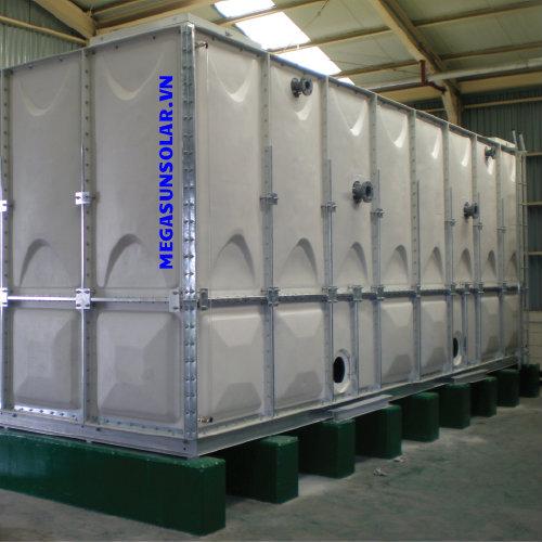 bể nước lắp ghép vật liệu grp