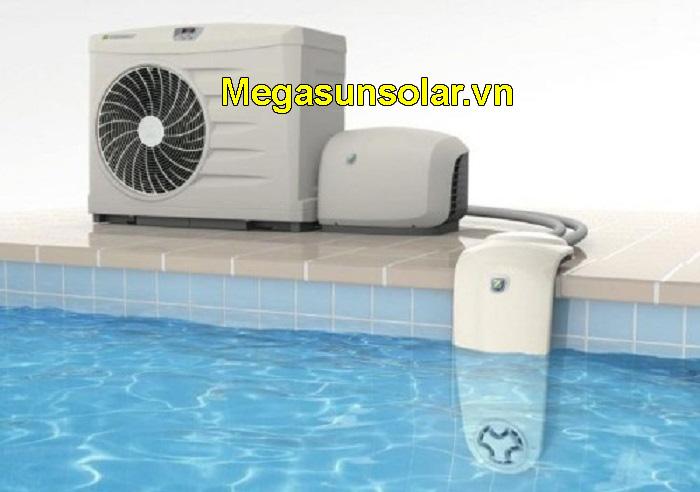 máy nước nóng bể bơi Megasun