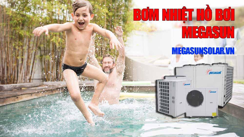Máy bơm nhiệt bể bơi heat pump Megasun MGS-6HP-S
