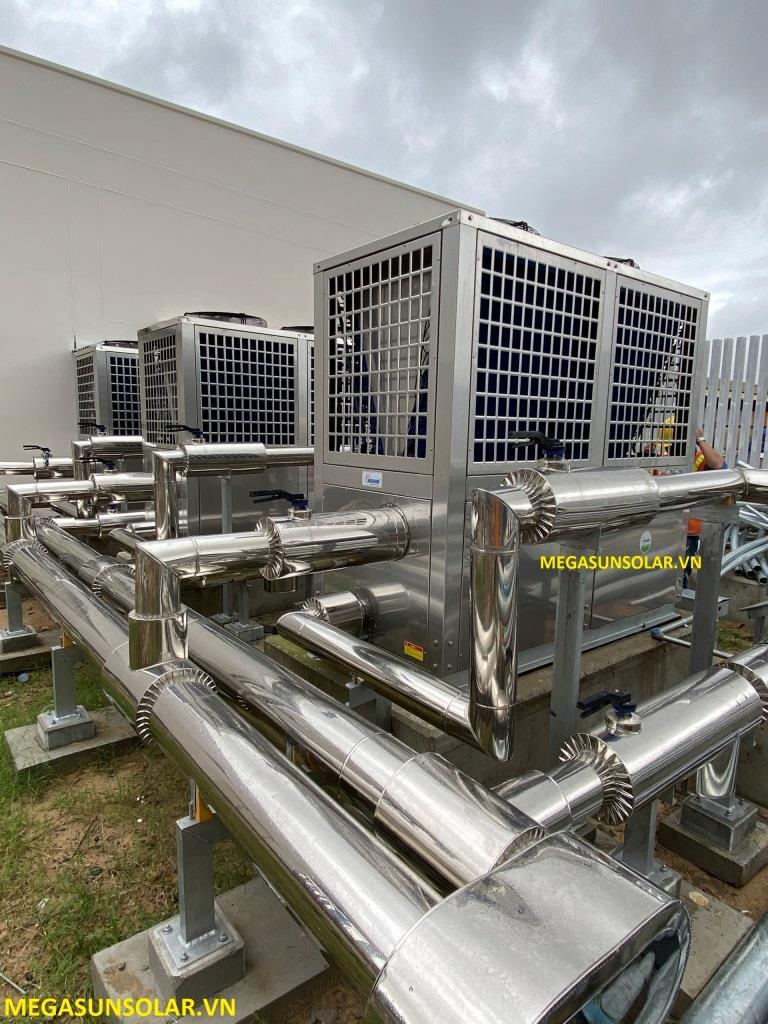 Máy bơm nhiệt nước nóng công nghiệp heat pump Megasun