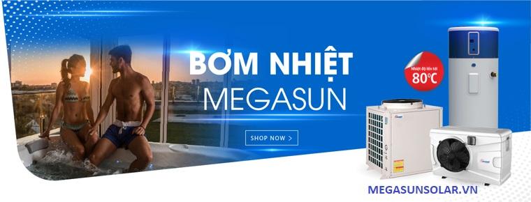máy nước nóng bơm nhiệt Megasun - bơm nhiệt heat pump