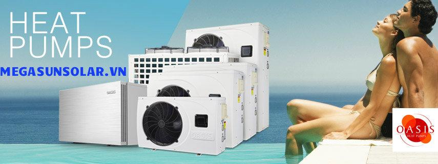 hệ thống nước nóng bơm nhiệt heat pump