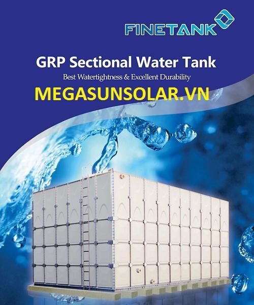 Bể chứa nước bằng composite