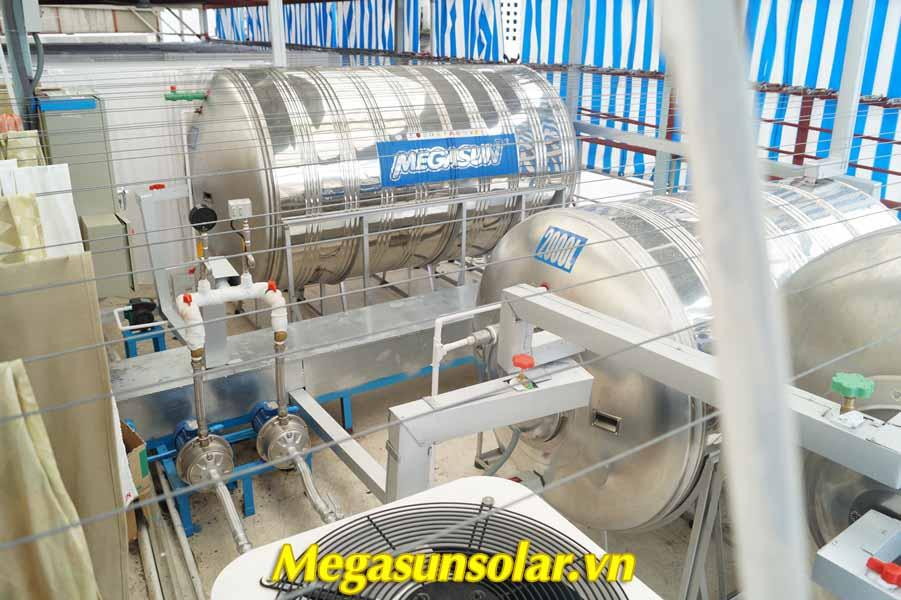 Hệ thống bồn bảo ôn chịu áp có khả năng bảo quản nước nóng tối đa 72 giờ