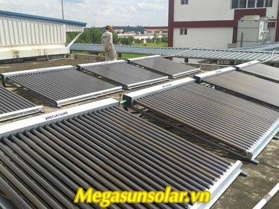 Dự án nước nóng năng lượng mặt trời Công Ty Giày Đông Phương