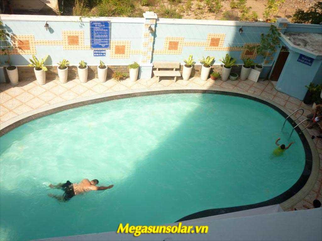 Hệ thống nước nóng tại khách sạn Tân Hoàng Thân Vũng Tàu