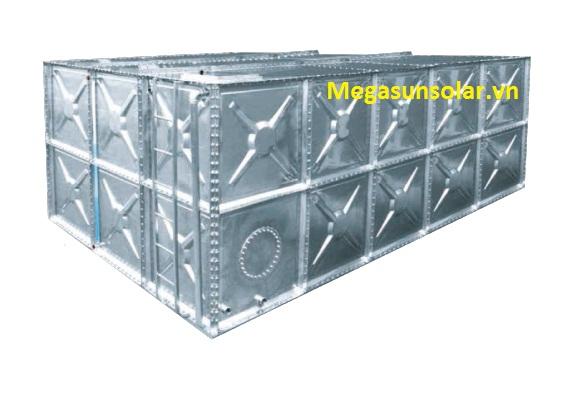 Bể nước lắp ghép Inox Megasun