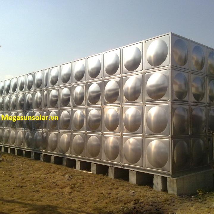 Bể nước lắp ghép Megasun Inox 304