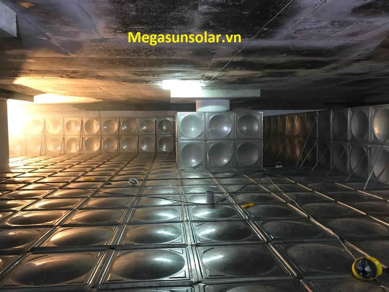 bể chứa nước lắp ghép