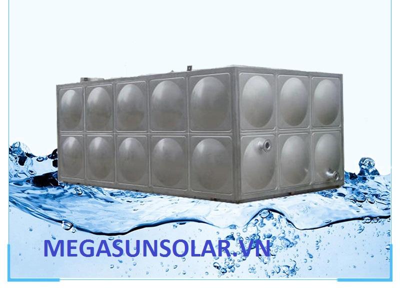 Bể nước lắp ghép INOX 200M3 Megasun