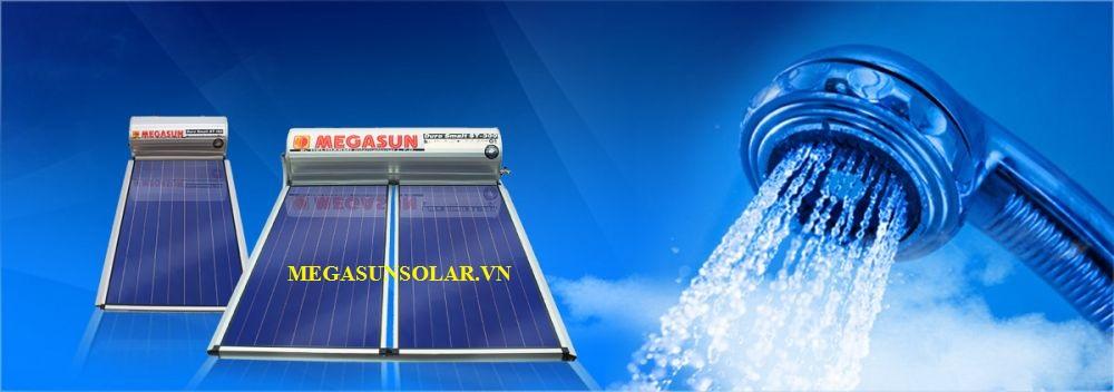 Máy nước nóng năng lượng mặt trời Collector Flat Panel Megasun