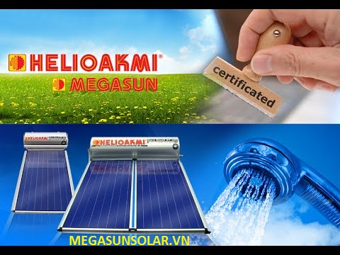 Máy nước nóng năng lượng mặt trời chịu áp Megasun ST300