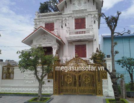 Heat pump megasun tại biệt thự Đông Hải