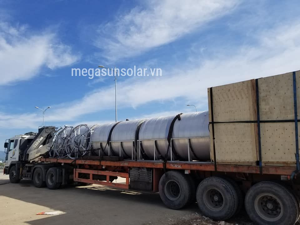 Megasun bơm nhiệt kết hợp năng lượng mặt tròi