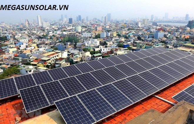 Điện năng lượng mặt trời 4KWp megasun