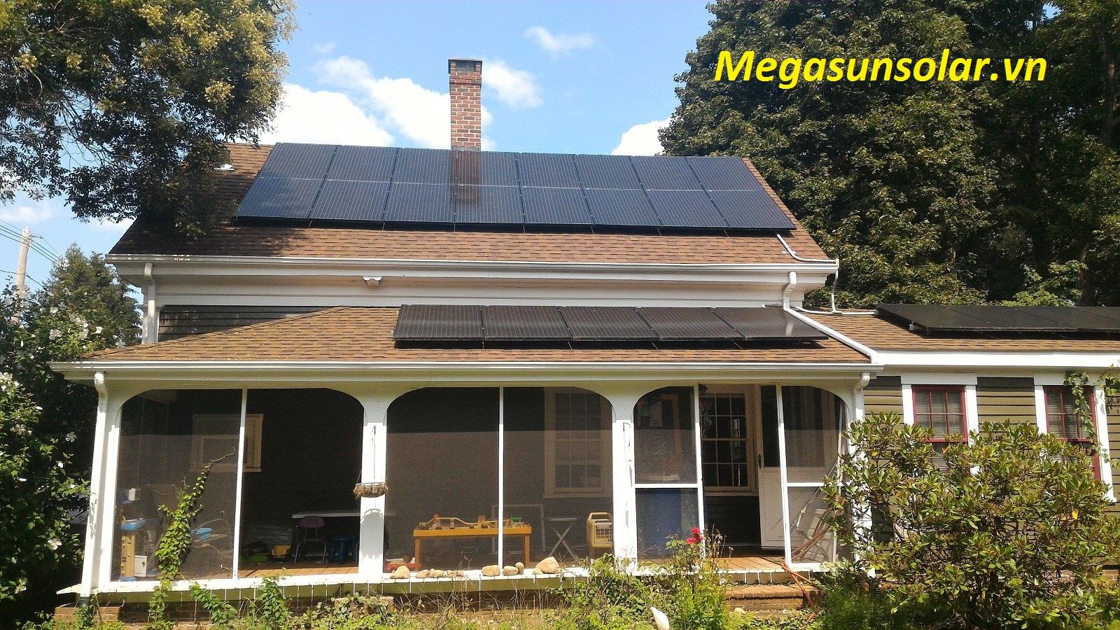 Điện năng lượng mặt trời 5kw Megasun