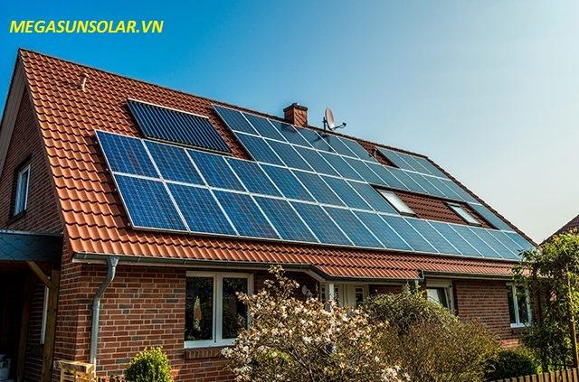 Điện năng lượng mặt trời cho gia đình 10 KWp