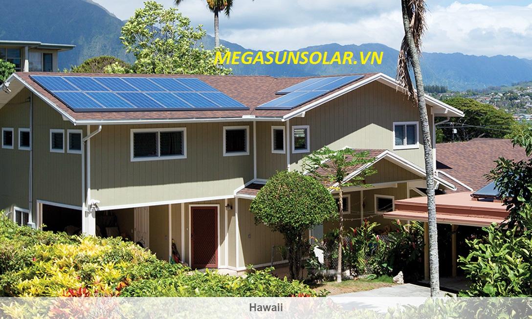 Điện năng lượng mặt trời cho hộ gia đình Megasun