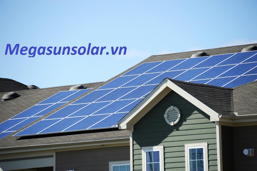 Điện năng lượng mặt trời cho hộ gia đình 1kwp Megasun