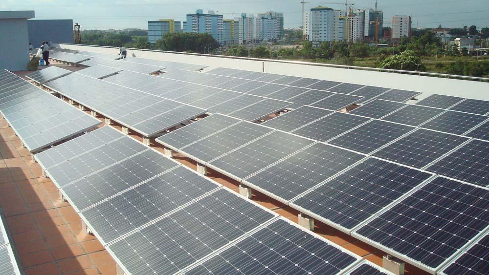 Điện năng lượng mặt trời hòa lưới cho hộ gia đình 2kw