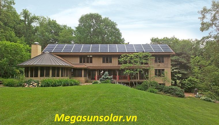 Điện năng lượng mặt trời cho hộ gia đình 3kw megasun