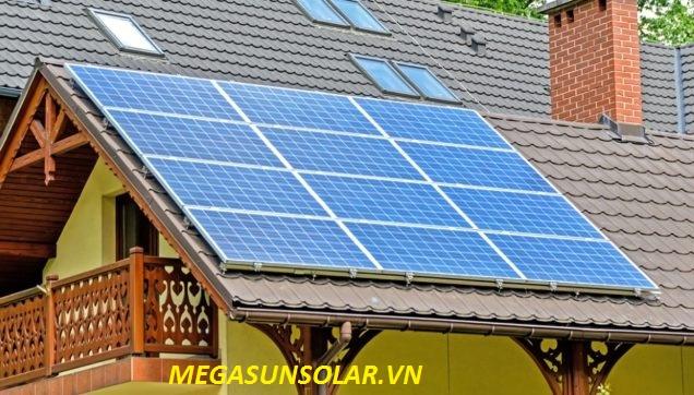 Điện năng lượng mặt trời cho hộ gia đinh 4KWp megasun